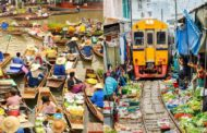 Floating Market/ Train Market