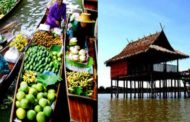 Floating Market Tour/ Fishing Village