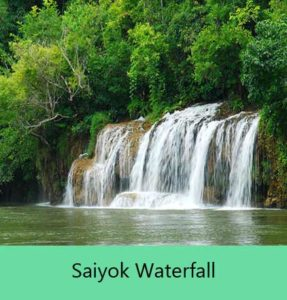 saiyok waterfall